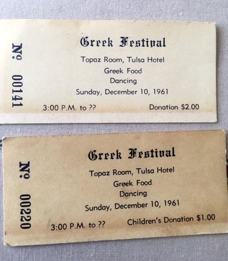 original festival tickets