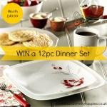 Win a Corelle 12pc Dinner Set