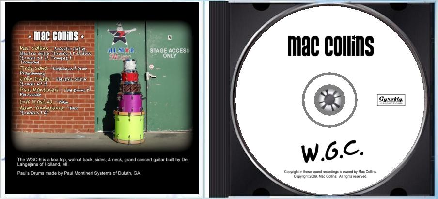 Gyrofly Productions CD/Album Graphics Samples Page