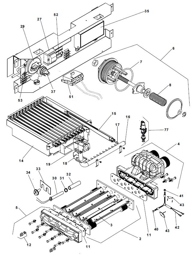 force 4 6 switch circuit breaker panel