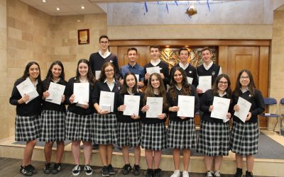 Mazel Tov to our latest NHS inductees!