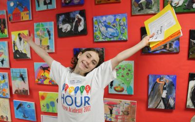 Students recreate the splendour of Chagall in breathtaking artwork