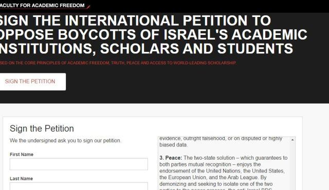 Hundreds of academics sign petition against BDS - Haaretz - Israel
