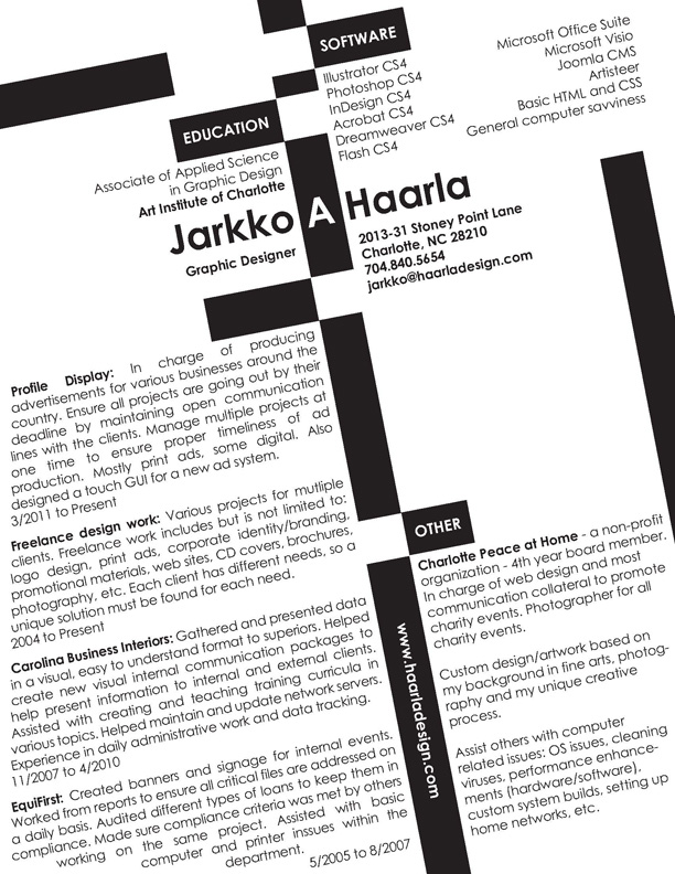 haarla_resume_revised_webimagejpg (612×792) JOB STUFF - graphic designer resume objective sample