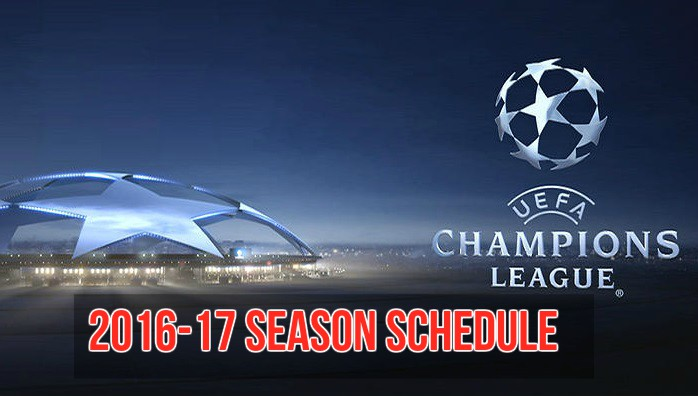 Champions-League-2016-17-schedule