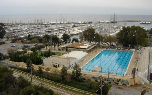 The Olympic swimming pool of Alimos