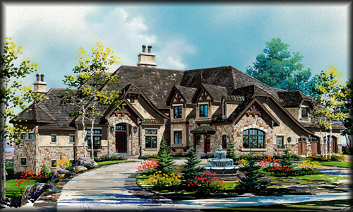 Luxury House Plans, Custom Home Floor Plans Search - luxury home designs