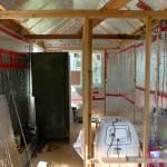 Construction des murs intérieurs 2