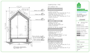 Plan de construction micromaison