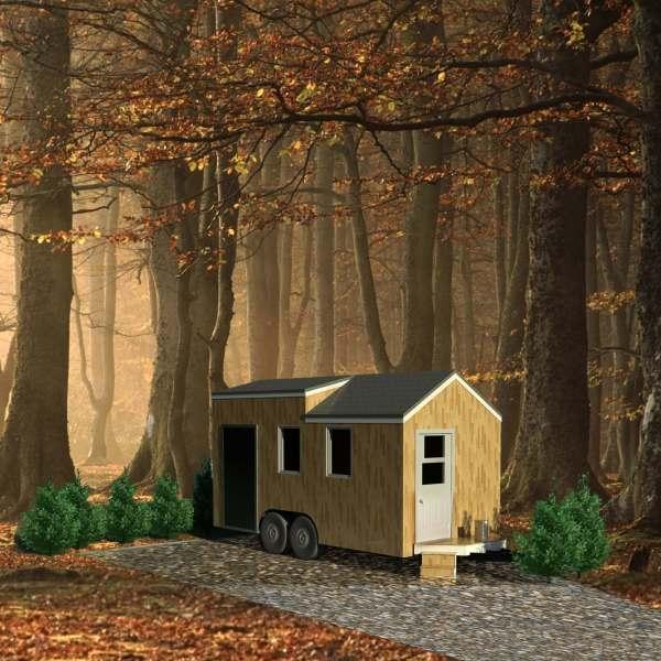 Emplacement futur maison