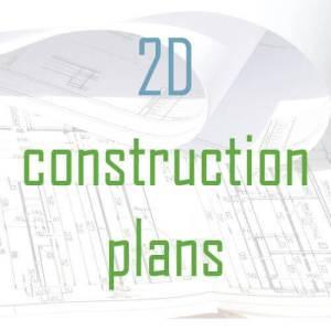 2D tiny house construction plans