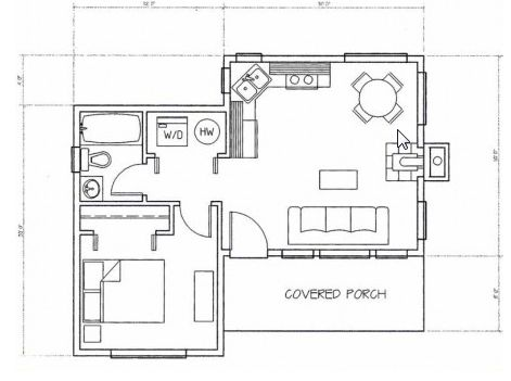 Ordinary Unique House Designs Part 1 - Small L-shaped House Plans - plan de maison simple