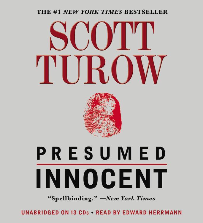 Presumed Innocent by Scott Turow Hachette Book Group