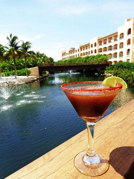 tropical drinks Riviera Maya