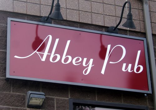Abbey Pub sign