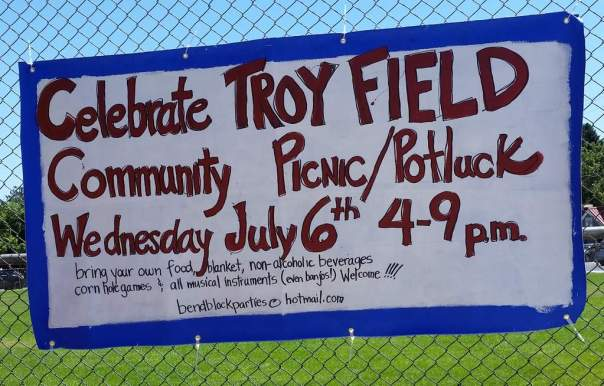 Celebrate Troy Field
