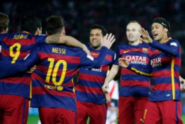 ميسى يقضى على امال ريال مدريد فى كلاسيكو الارض