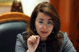 وزيره التضامن الاجتماعي تشهد توقيع بروتكول حفر ابار مياه عذبه باسيوط