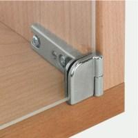 Glass Door Hinge, 180, Sprung, for Inset Doors - Hfele U ...