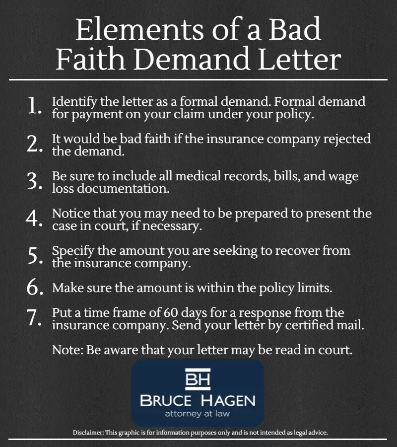 How To Write A Bad Faith Demand Letter