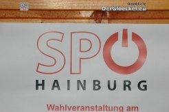 Hinweis auf die Wahlveranstaltung der SPÖ-Hainburg