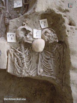 bizarr - unvollständige Skelette