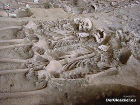 Ein Gräberverband im Klaasenzimmer