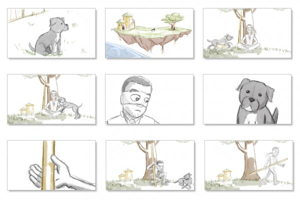 Comic and Storyboard - Estudio Haini