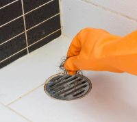 Clogged Shower Drain - Hair2o Salon