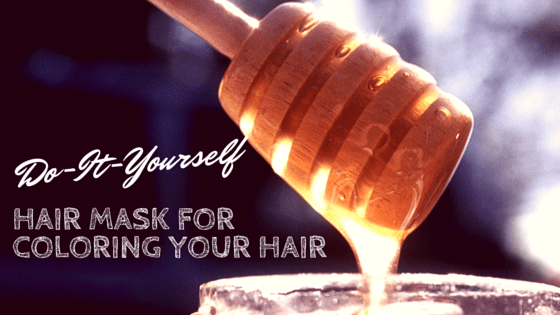Do-It-Yourself hair mask to color your hair