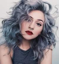 Gray hair color ideas 2018-2019 : Long Hair Tutorial