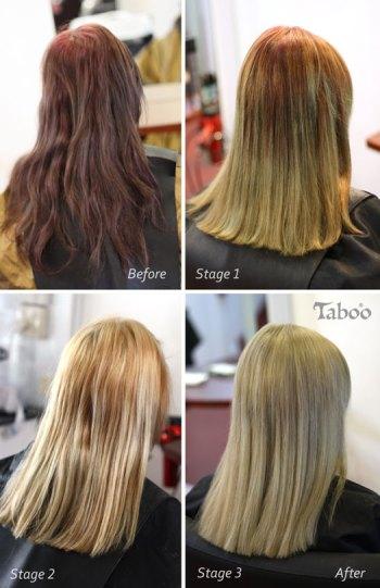 Colour correction processing photo by Tina Fox