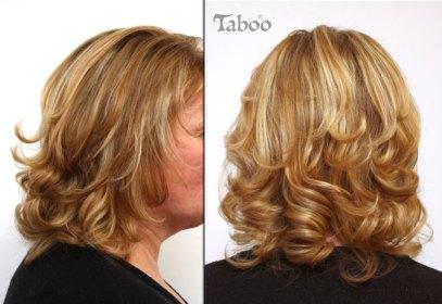 blonde foil highlights photo