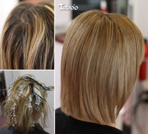 Highlighting - sleek natural blonde result. By Karori hair stylist Tina Fox