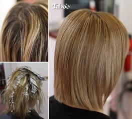 Highlighting - sleek natural blonde result. By Karori hair stylist Tina Fox