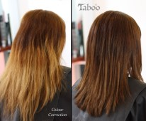 Hair Color Correction