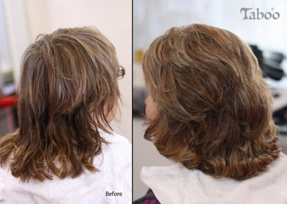 Blow wave hair style