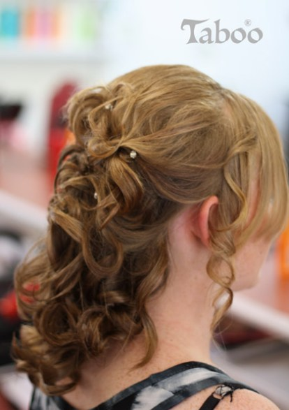 Updo style design photo
