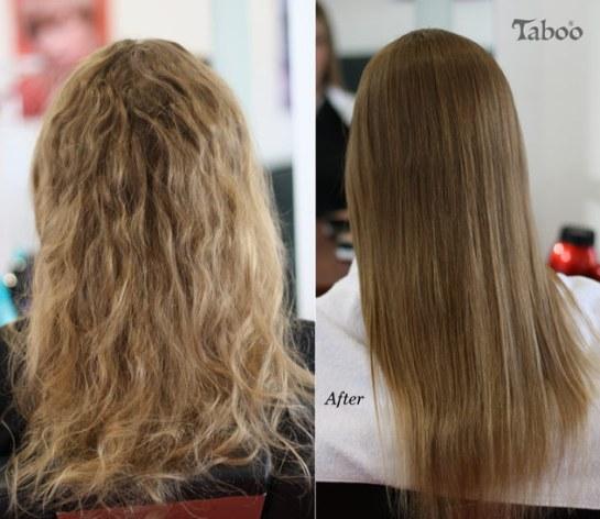 Hair Straightening by Tina Fox