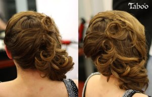 hair updo design photo