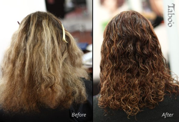Lowlights foils before and after photos