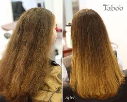 Ombre highlighting result by Tina Fox Karori Hairdresser