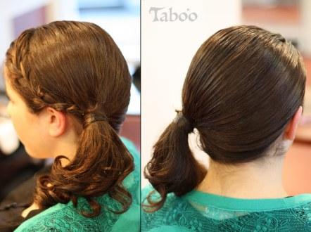 updo ponytail photo