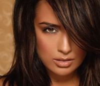 Hair Color Ideas for Brunettes: Funky, With Highlights