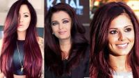 Chocolate Cherry Hair Color Pictures, Formula with Red ...