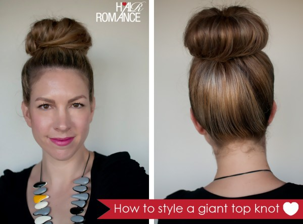 easy hairstyles  the giant top knot I find I wear this hairstyle . 1220 x 903.Pin Up Hairstyles For Braids