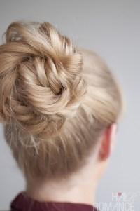 Hairstyle Tutorial - Fishtail Braided Bun - Hair Romance