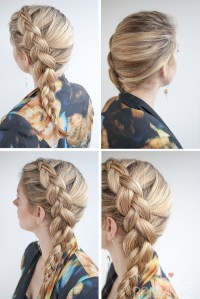 Dutch side braid hairstyle tutorial - Hair Romance