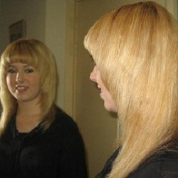 haar metamorfose lang blond afbeelding 4