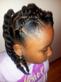Black Braids Hairstyle for Girls